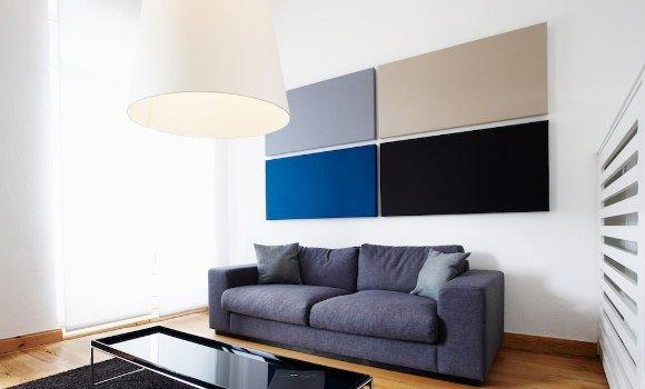 Akustik-Wandelemente color fields von acousticpearls - Schallminderung im Raum