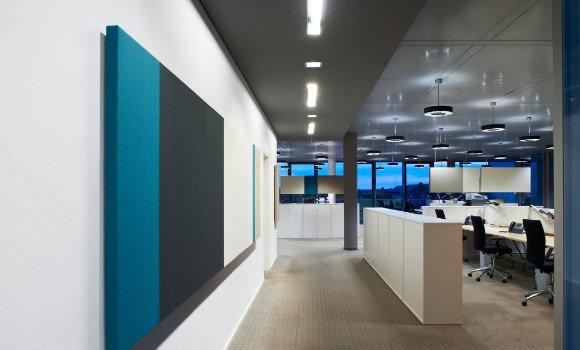Akustik-Wandelemente - Schallminderung am Arbeitsplatz und Büro