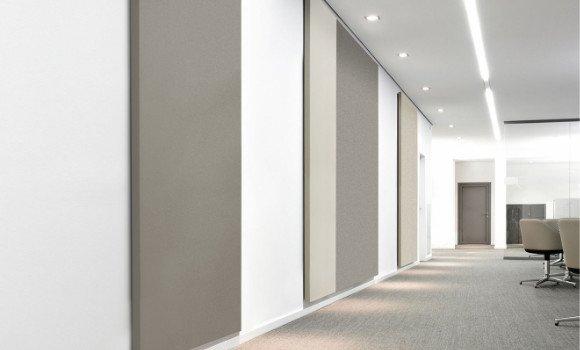 Akustikpaneel für Wandflächen - Schallminderung im Raum