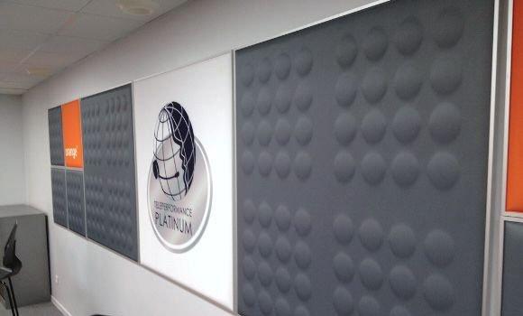Schallschutz für die Wand - hilly pad 3D