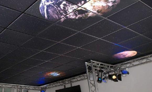 Akustik-Deckenplatten mit einzigartigen Design