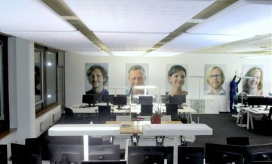 Schallschutz im Dialog-Center