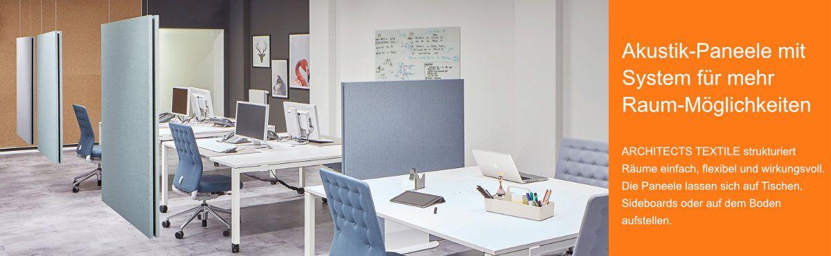 Schallminderung | Modulare Akustiklösung für moderne Bürolandschaften