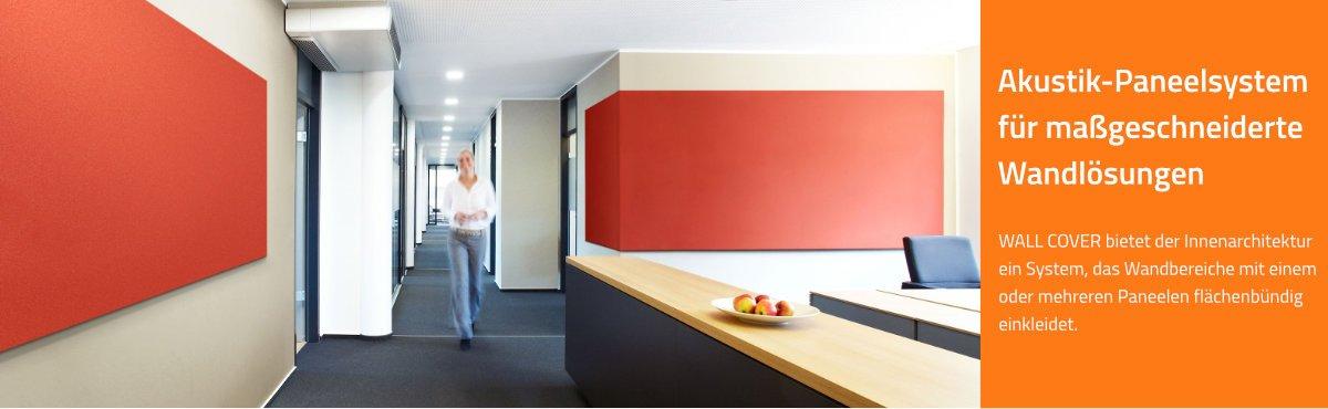 Schallminderung | Akustik-Wandpaneele für maßgeschneiderte Raumlösungen im Büro, Konferenzzimmer, Call Center